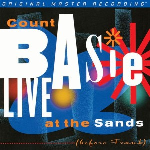 BASIE, COUNT - LIVE AT THE SANDS: BEFORE FRANK (NUMBERED LIMITED EDITION HYBRID SACD)