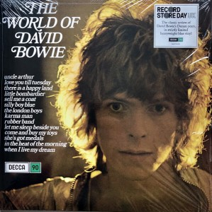 BOWIE, DAVID - THE WORLD OF DAVID BOWIE LP (RSD)