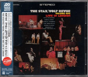 VARIOUS - THE STAX/VOLT REVUE VOL.1 LIVE IN LONDON
