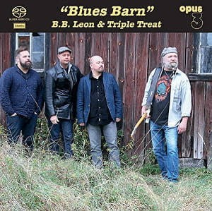 B.B. LEON & TRIPLE TREAT - BLUES BARN