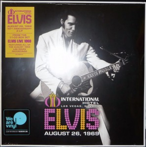 PRESLEY, ELVIS - LIVE AT THE INTERNATIONAL HOTEL, LAS VEGAS, NV AUGUST 26, 1969