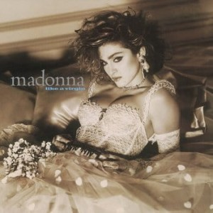 MADONNA - LIKE A VIRGIN (CLEAR VINYL ALBUM)