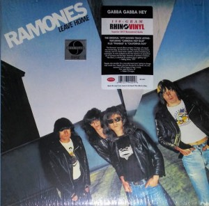 RAMONES, THE - LEAVE HOME (REMASTERED)