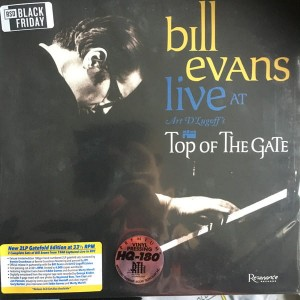 EVANS, BILL - LIVE AT ART. D'LUGOFF'S TOP OF THE GATE (RSD)