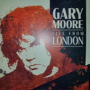 MOORE, GARY - LIVE FROM LONDON (BLUE WINYL)
