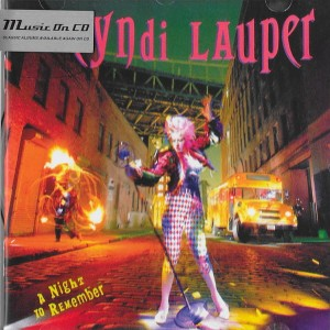 LAUPER, CYNDI - A NIGHT TO REMEMBER