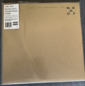 1975, THE - NOTES ON A CONDITIONAL FORM (CLEAR VINYL)