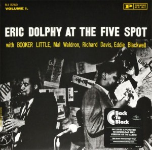 DOLPHY, ERIC - AT THE FIVE SPOT VOL. 1