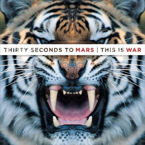 30 SECONDS TO MARS - THIS IS WAR (WHITE BARCODE)