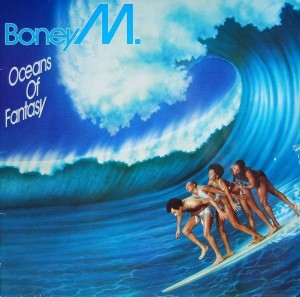 BONEY M. - OCEANS OF FANTASY (1979)