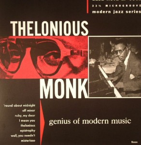 MONK, THELONIOUS - GENIUS OF MODERN MUSIC VOL 1