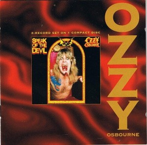 OSBOURNE OZZY - SPEAK OF THE DEVIL