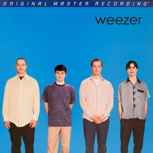 WEEZER - WEEZER (BLUE ALBUM) (NUMBERED LIMITED EDITION BLUE COLORED 180G VINYL LP)