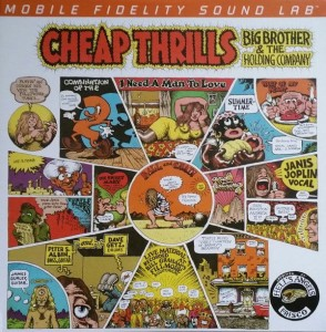 JOPLIN, JANIS - CHEAP THRILLS(NMD LTD ED 180G 45RPM VINYL 2LP)