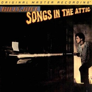 JOEL, BILLY - SONGS IN THE ATTIC (NUMBERED LIMITED EDITION 45RPM 180G VINYL 2LP)