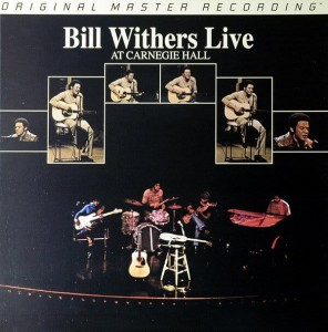 WITHERS, BILL - LIVE AT CARNEGIE HALL (NUMBERED HYBRID SACD)