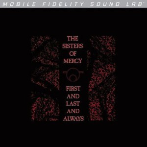 SISTERS OF MERCY - FIRST AND LAST AND ALWAYS (NUMBERED LIMITED EDITION VINYL LP)