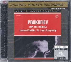 PROKOFIEV - IVAN THE TERRIBLE - SLATKIN (SACD4.0)