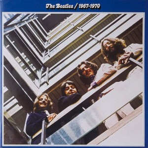 BEATLES, THE - BEATLES 1967-1970 (BLUE)