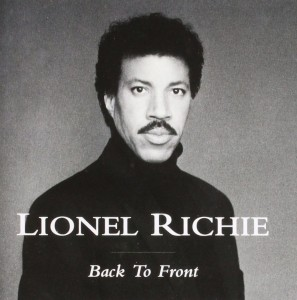 RICHIE, LIONEL - BACK TO FRONT