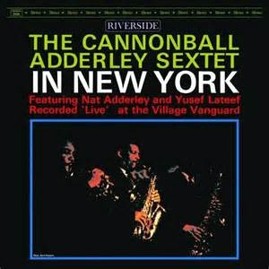 ADDERLEY, CANNONBALL - IN NEW YORK LP