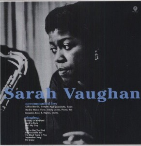 VAUGHAN, SARAH - SARA VAUGHAN WITH CLIFFORD BROWN