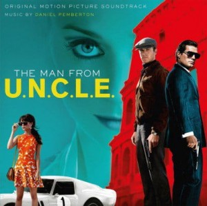 SOUNDTRACK -  THE MAN FROM U.N.C.L.E.