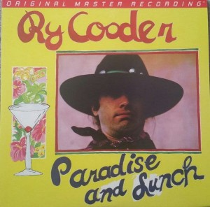 COODER, RY - PARADISE AND LUNCH (NUMBERED LIMITED EDITION 180G VINYL LP)