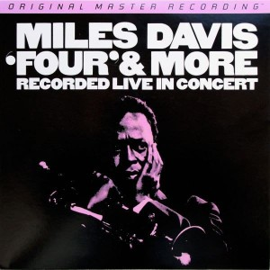 DAVIS, MILES - FOUR AND MORE (NUMBERED LIMITED EDITION 180G VINYL LP)