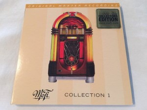 VARIOUS - MOBILE FIDELITY COLLECTION VOLUME 1 (NUMBERED LIMITED EDITION GOLD CD)