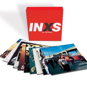 INXS - ALL THE VOICES-VINYL ALBUM COLLECTION