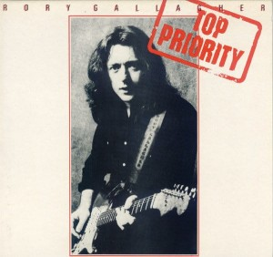 GALLAGHER, RORY - TOP PRIORITY (REMASTERED) LP