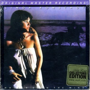 RONSTADT, LINDA - HASTEN DOWN THE WIND (NUMBERED GOLD CD)