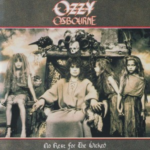 OSBOURNE OZZY - NO REST FOR THE WICKED
