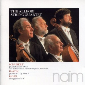 ALLEGRI STRING QUARTET - SCHUBERT, HAYDN, RAVEL