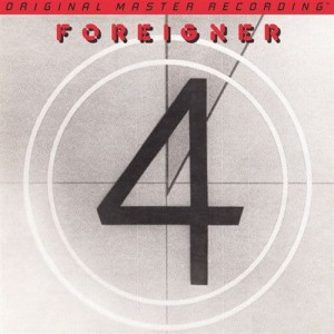 FOREIGNER - 4 (NUMBERED LIMITED EDITION 180G VINYL LP)
