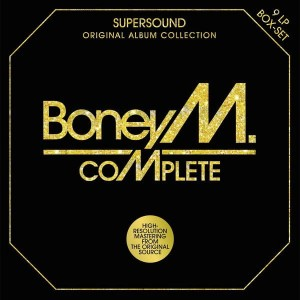 BONEY M. - COMPLETE (ORIGINAL ALBUM COLLECTION - 9LP BOX-SET)