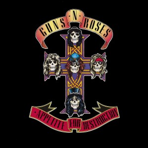 GUNS N' ROSES - APPETITE FOR DESTRUCTION 2 LP LTD.