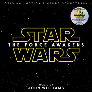 SOUNDTRACK  - STAR WARS: THE FORCE AWAKENS 2LP LTD. 3D