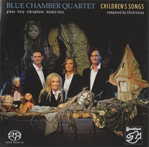 BLUE CHAMBER QUARTET - CHILDREN'S SONGS