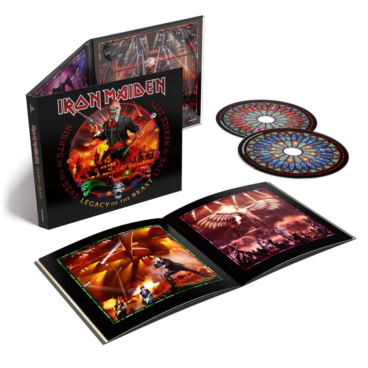 IRON MAIDEN - NIGHTS OF THE DEAD - LEGACY OF THE BEAST, LIVE IN MEXICO CITY  VOICESHOP.PL